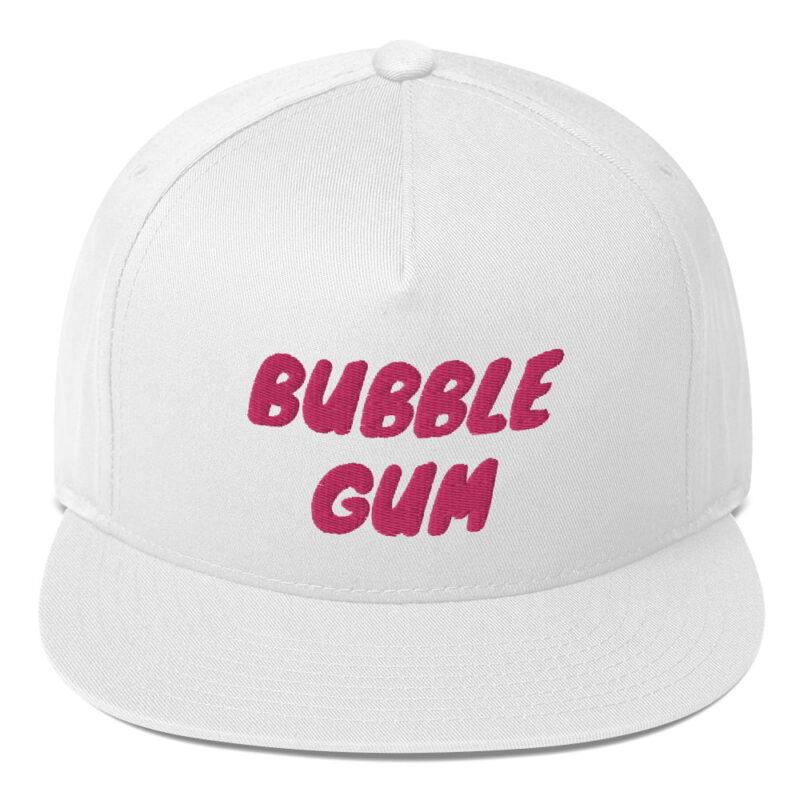 Bubble Gum Flat Bill Cap 4