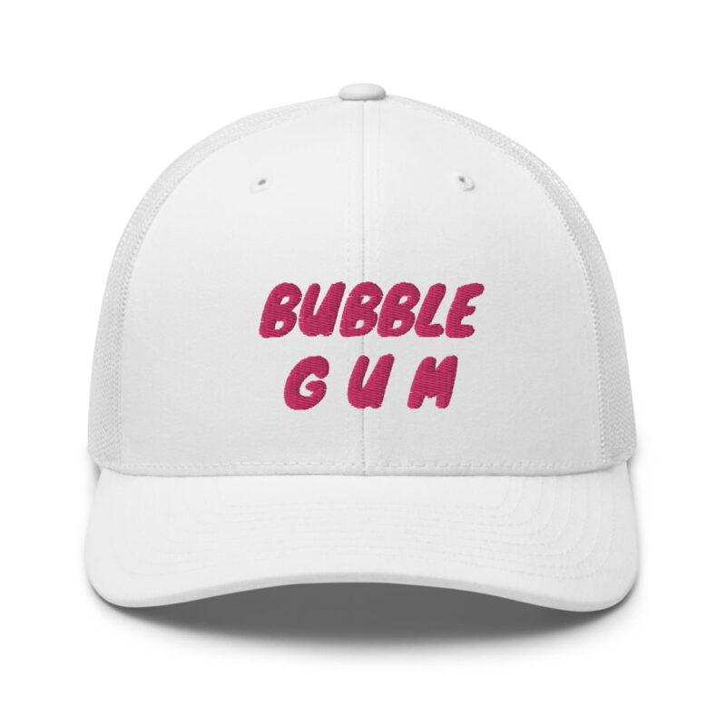 Bubble Gum Trucker Cap 1