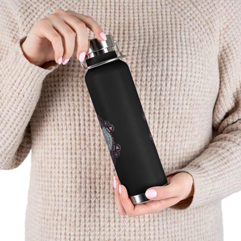 Bear Geometry Design Vacuum Insulated Bottle 5