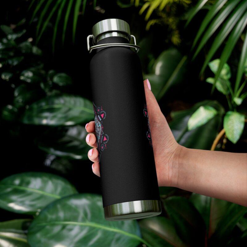 Bear Geometry Design Vacuum Insulated Bottle 6
