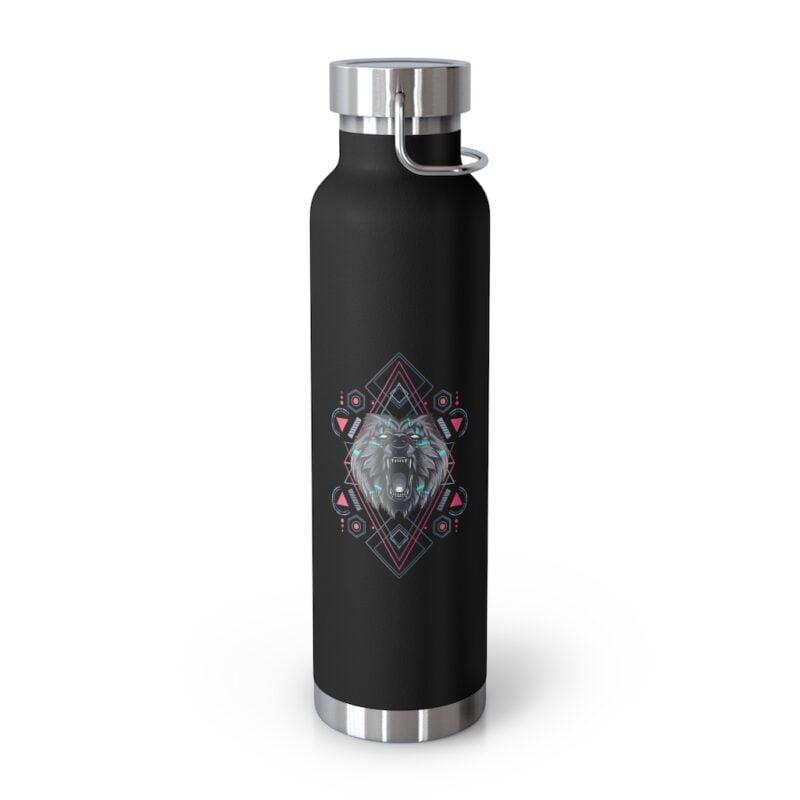 Bear Geometry Design Vacuum Insulated Bottle 1