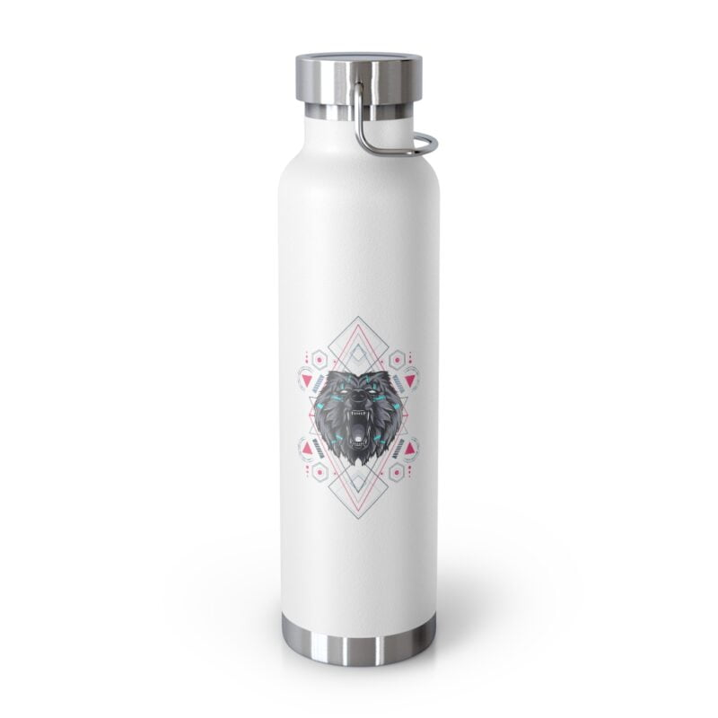 Bear Geometry Design Vacuum Insulated Bottle 7