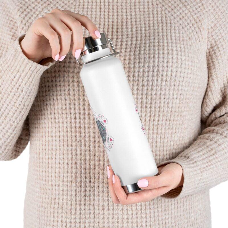 Bear Geometry Design Vacuum Insulated Bottle 11