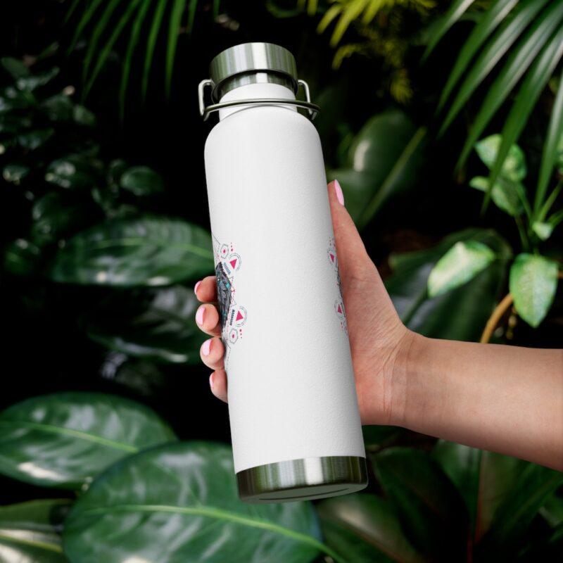 Bear Geometry Design Vacuum Insulated Bottle 12