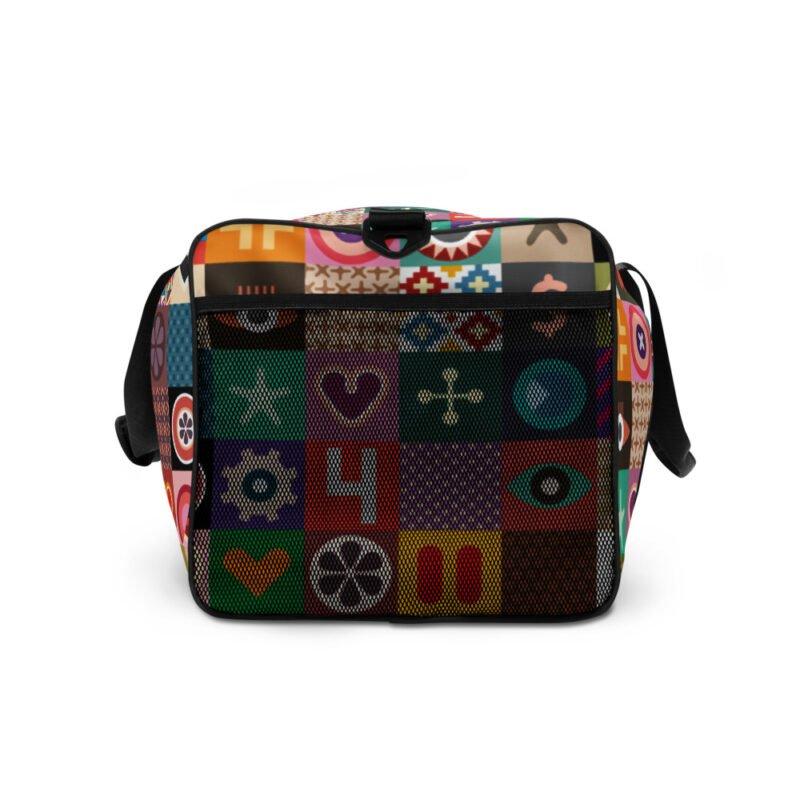 Colorful Motifs Maximalism Duffle bag 5