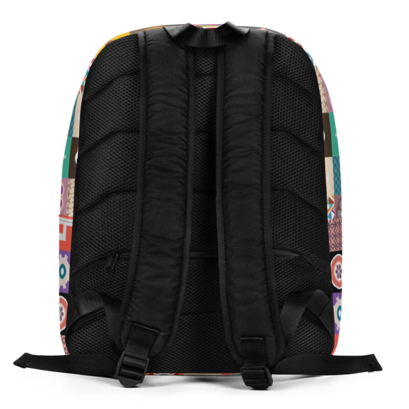 Colorful Motifs Maximalism Backpack 4