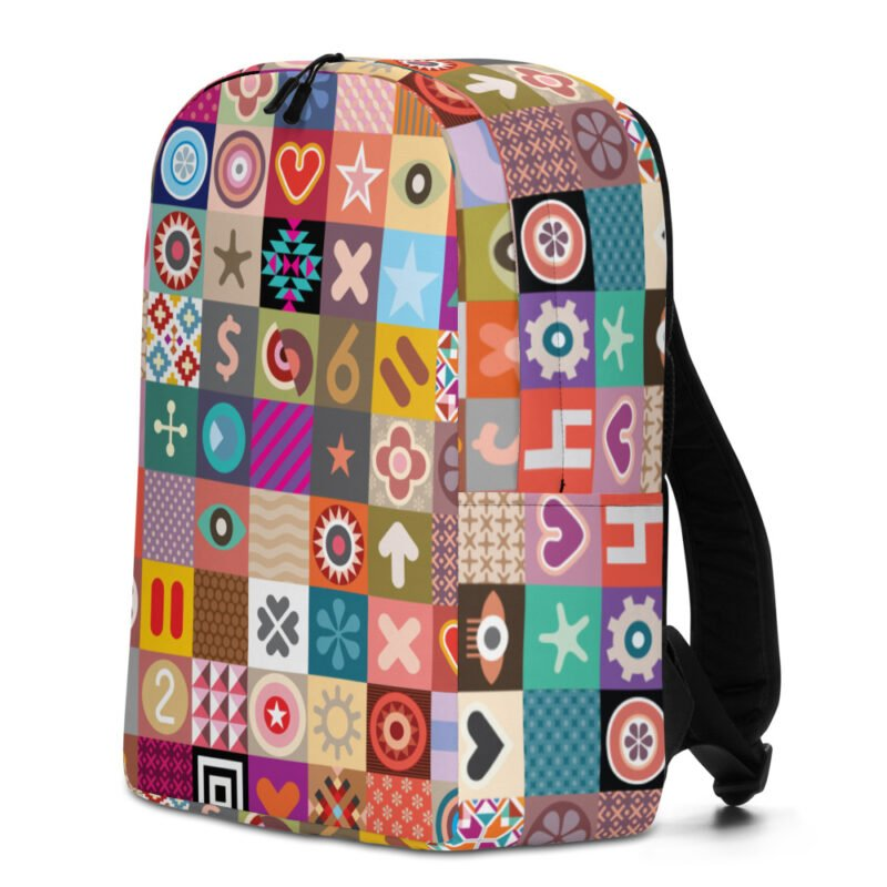 Colorful Motifs Maximalism Backpack 2
