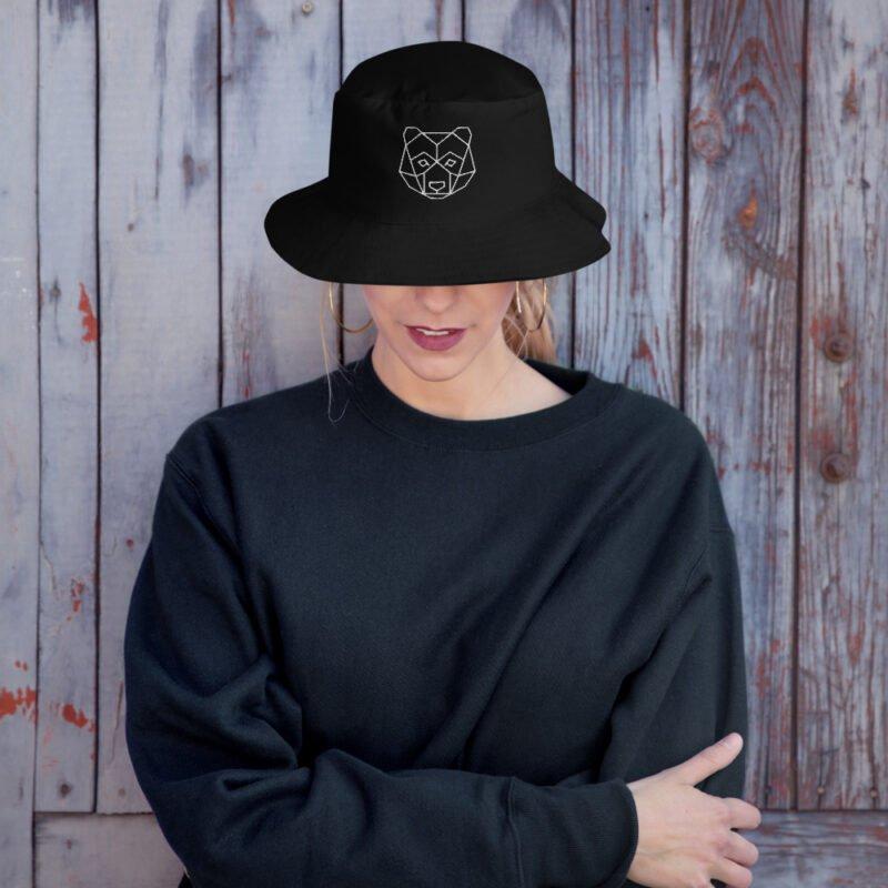 Bear Art Bucket Hat 3