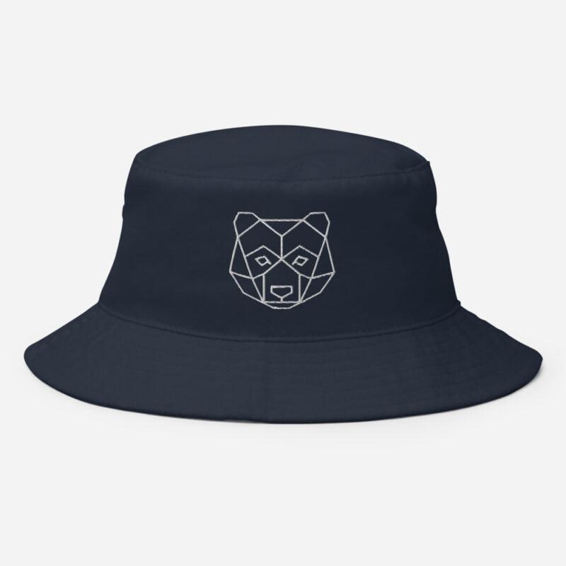 Bear Art Bucket Hat 4