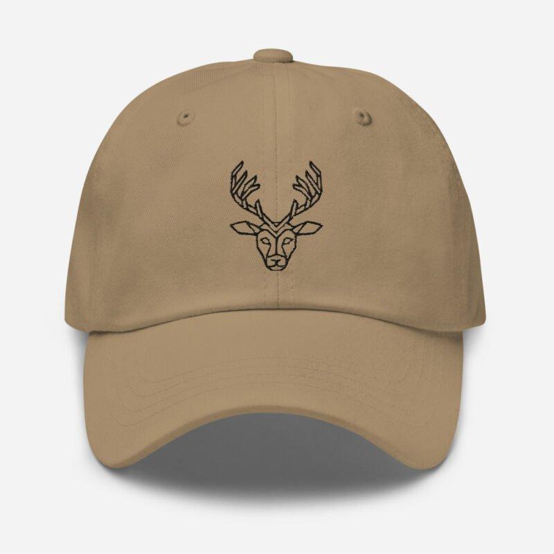 Deer Art Basketball Cap 7