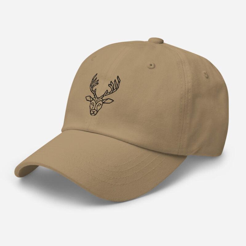 Deer Art Basketball Cap 8