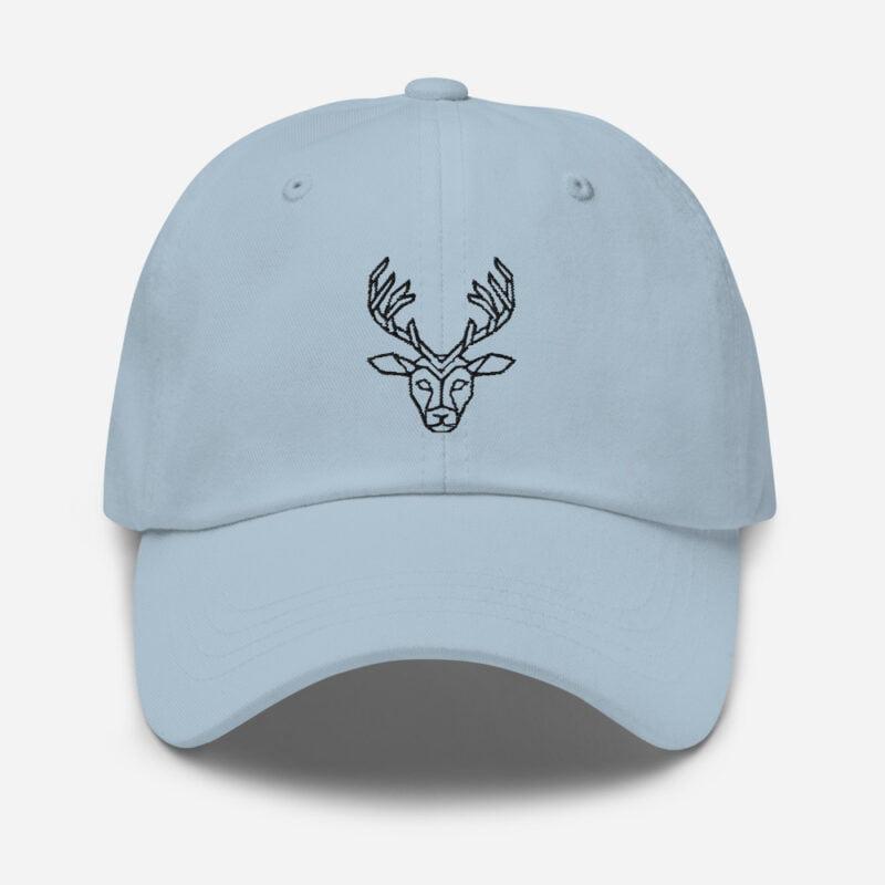 Deer Art Basketball Cap 3