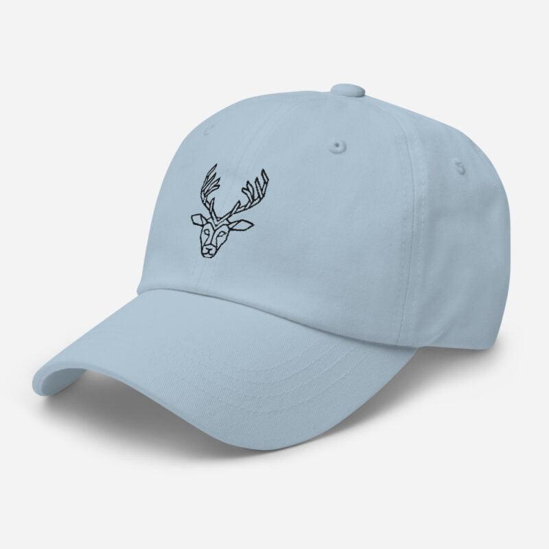 Deer Art Basketball Cap 4