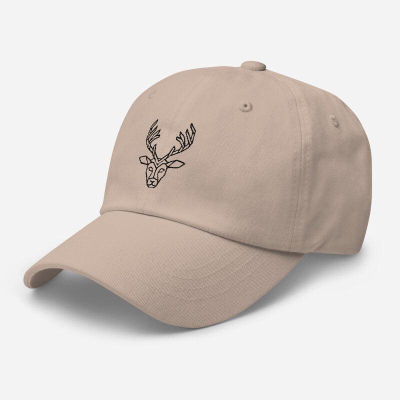 Deer Art Basketball Cap 9