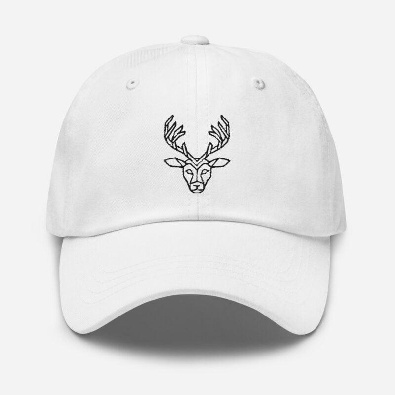 Deer Art Basketball Cap 10