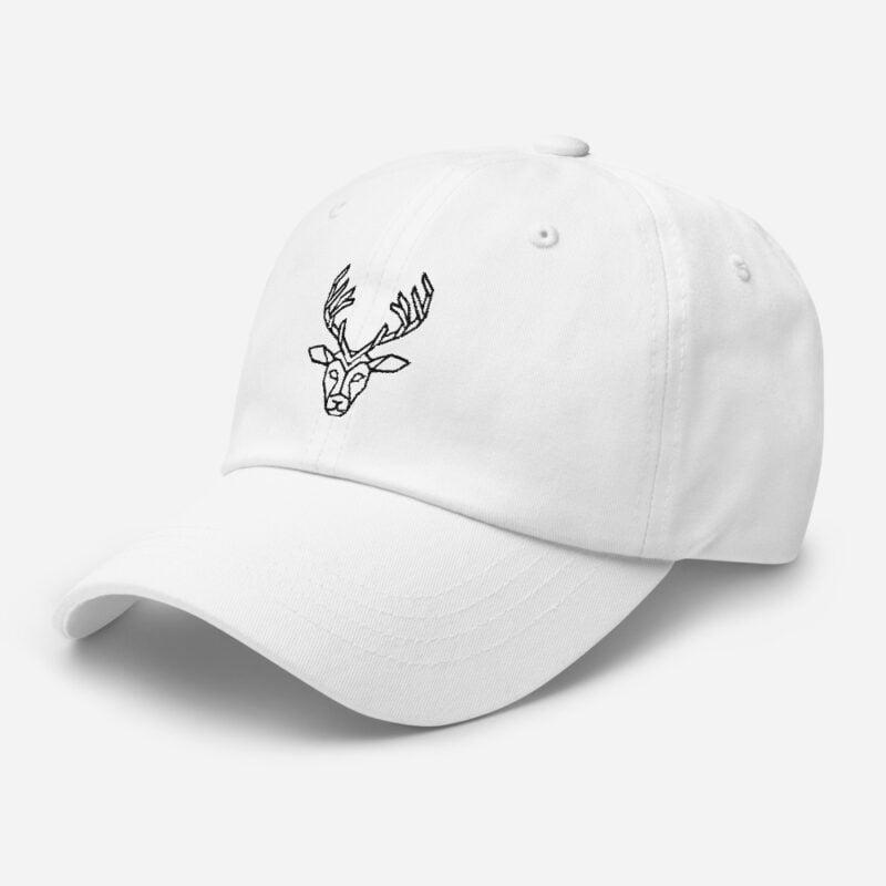 Deer Art Basketball Cap 11