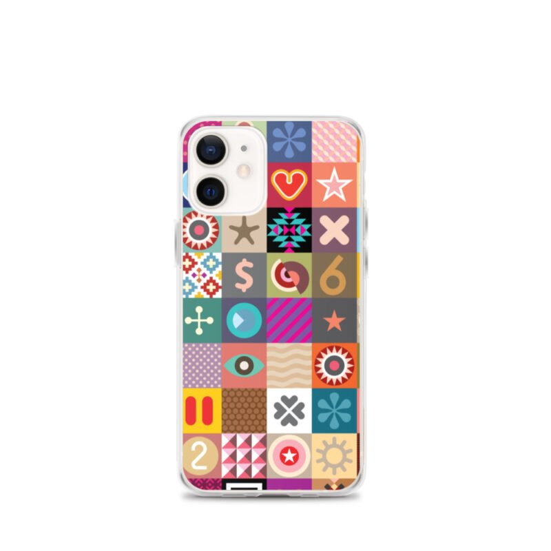 Colorful Motifs Maximalism iPhone Case 9