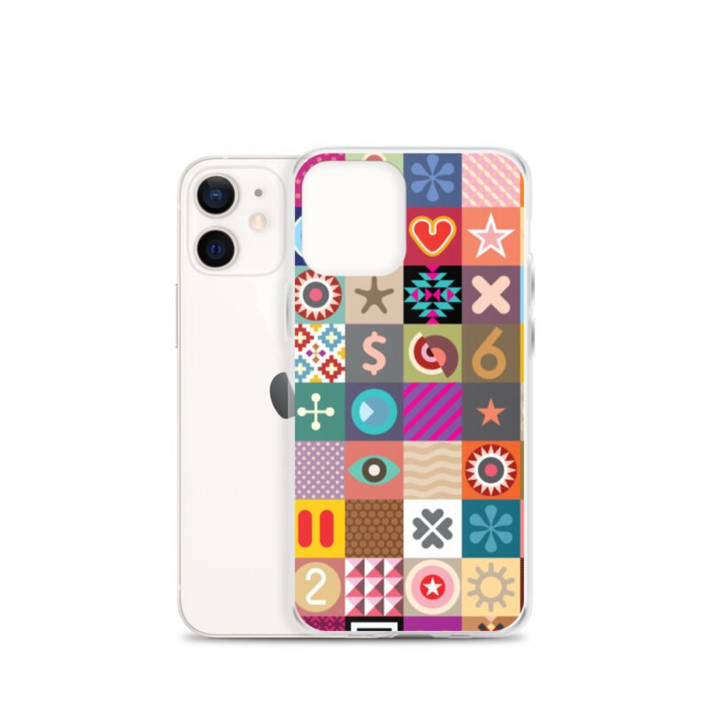 Colorful Motifs Maximalism iPhone Case 10