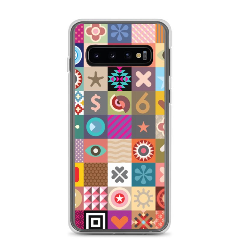 Colorful Motifs Maximalism Samsung Case 2