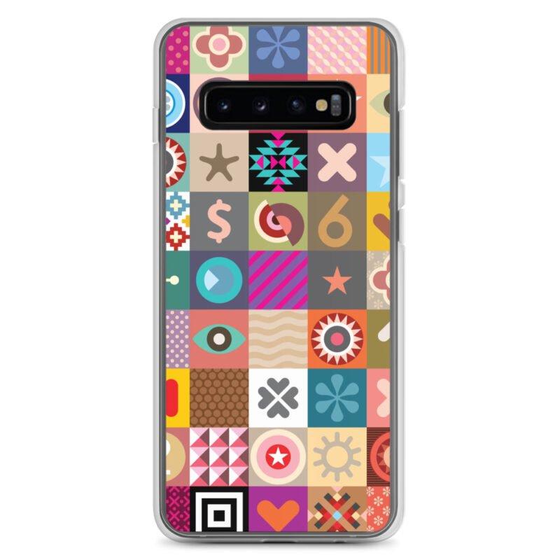 Colorful Motifs Maximalism Samsung Case 3