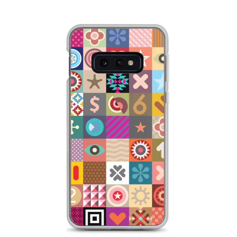 Colorful Motifs Maximalism Samsung Case 4