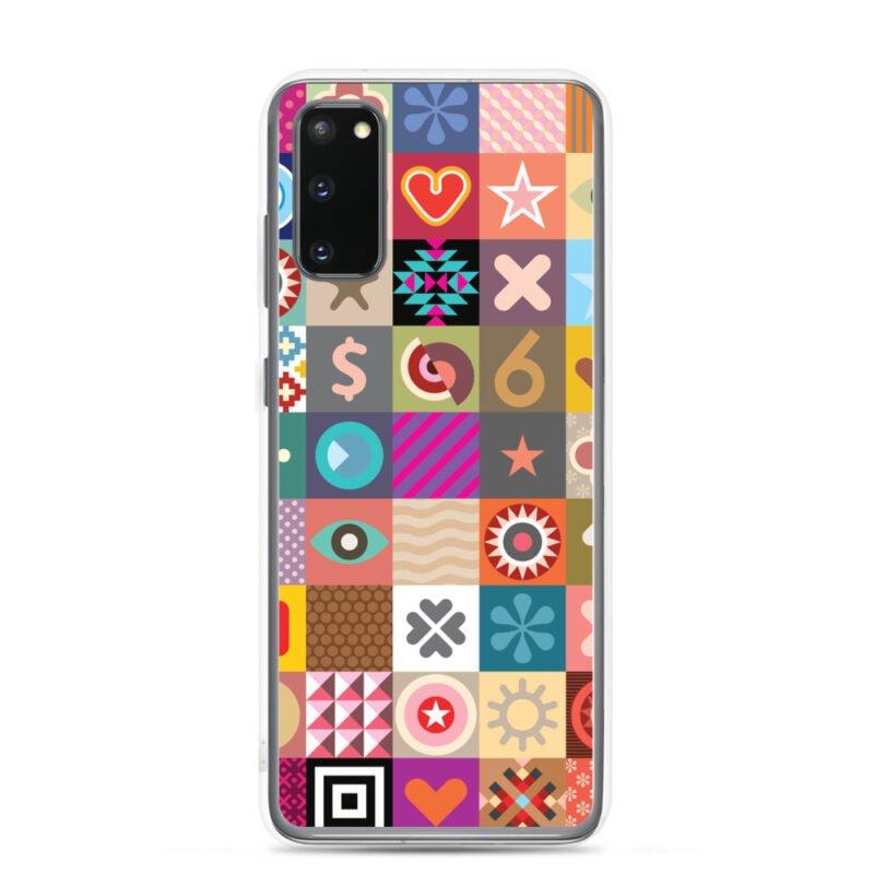 Colorful Motifs Maximalism Samsung Case 5