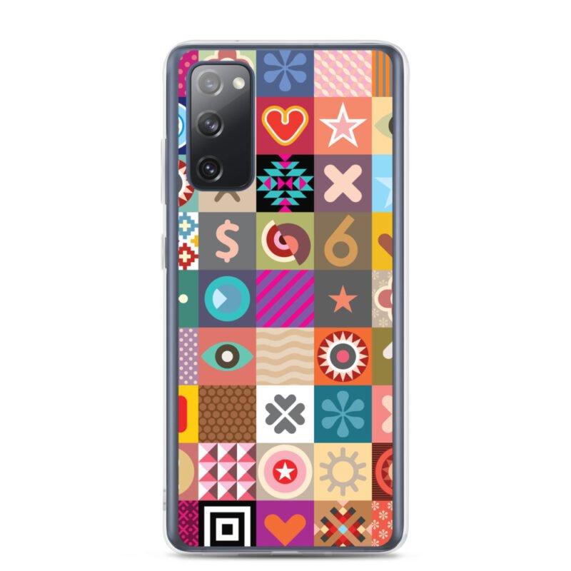 Colorful Motifs Maximalism Samsung Case 6