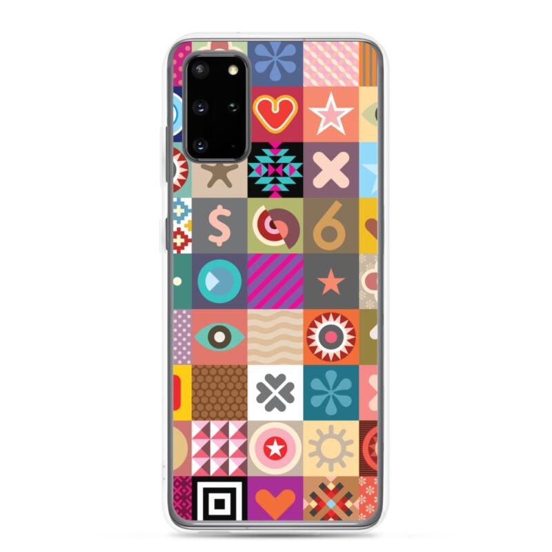 Colorful Motifs Maximalism Samsung Case 7