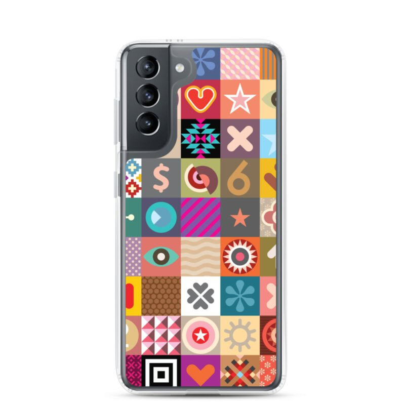 Colorful Motifs Maximalism Samsung Case 1