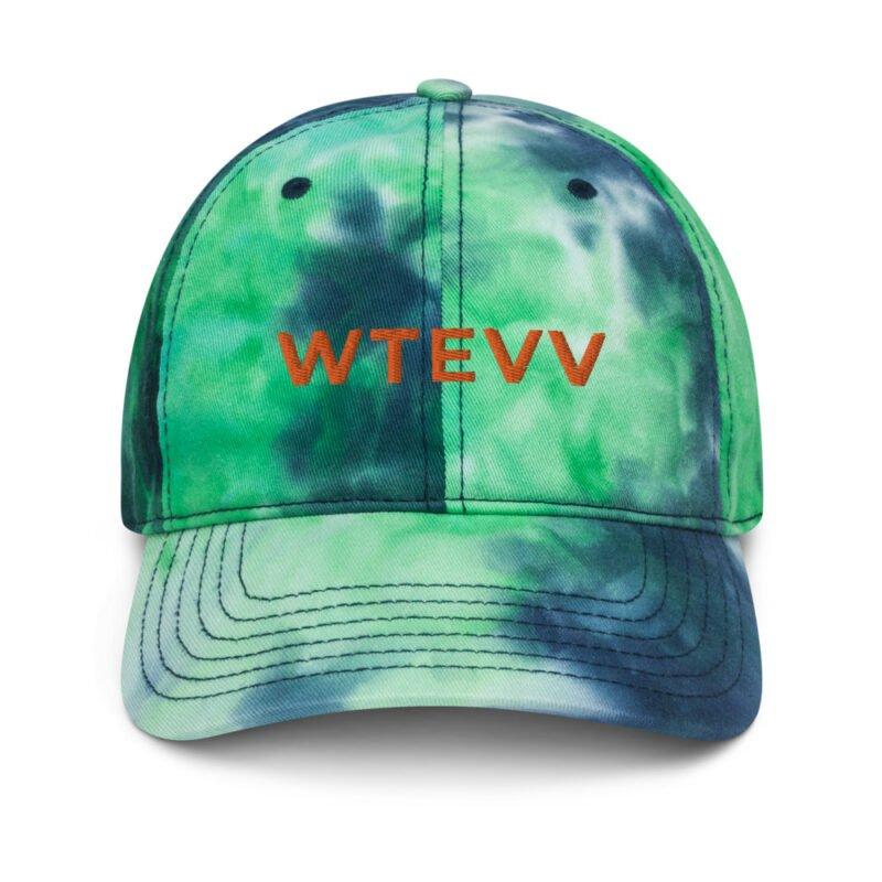 WTEVV Tie dye hat 2