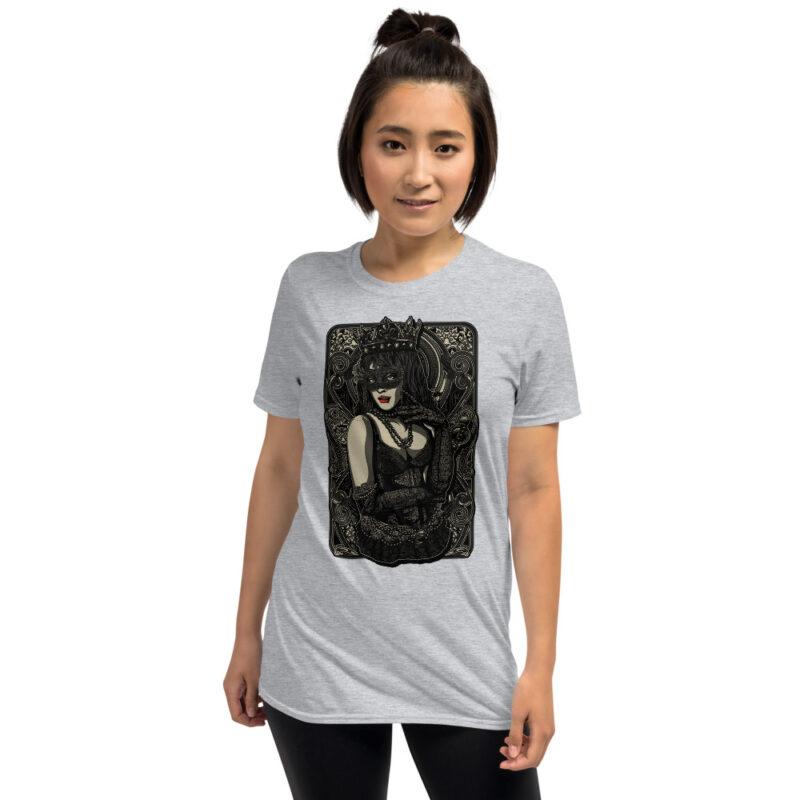 The Queen Tattoo Ink Short-Sleeve Unisex T-Shirt 4