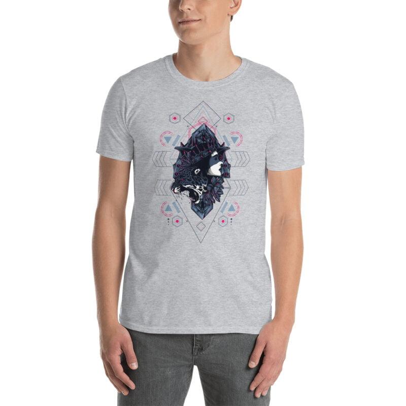 Cheetah Queen and Lotus Sacred Art Unisex T-Shirt 10