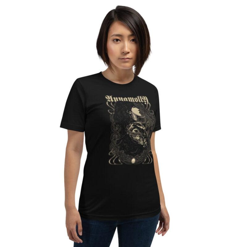 Beautiful Tattoo Art Short-Sleeve Unisex T-Shirt black