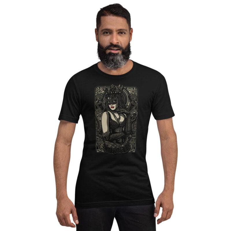 The Queen Tattoo Ink Short-Sleeve Unisex T-Shirt men