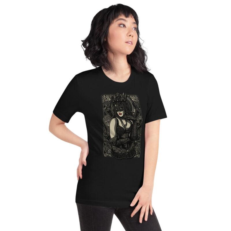 The Queen Tattoo Ink Short-Sleeve Unisex T-Shirt 2
