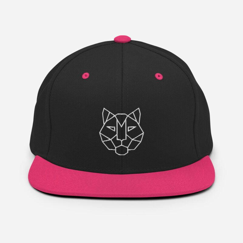 Tiger 3D Puff Snapback Hat 5
