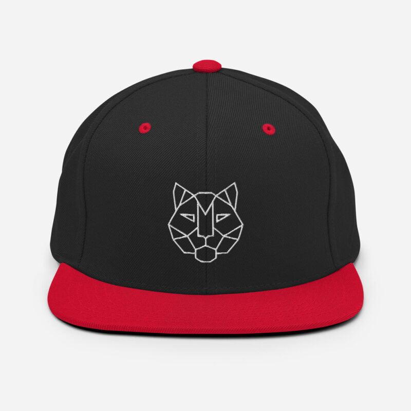 Tiger 3D Puff Snapback Hat 4