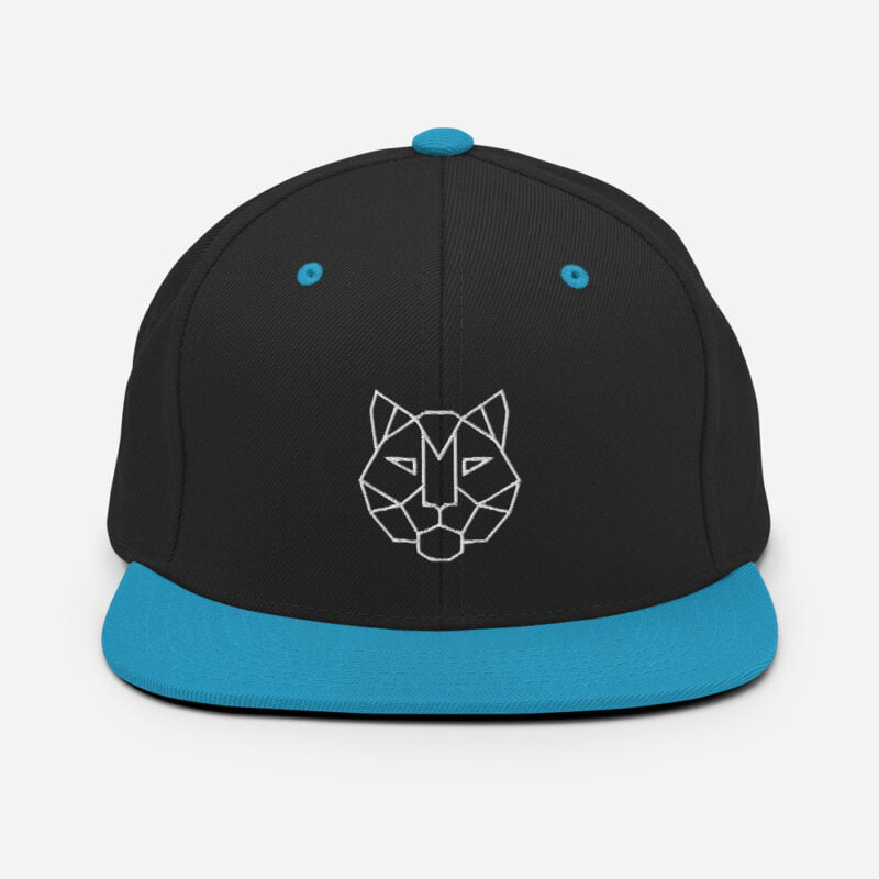 Tiger 3D Puff Snapback Hat 6