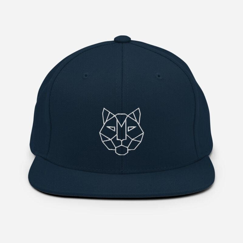 Tiger 3D Puff Snapback Hat 3