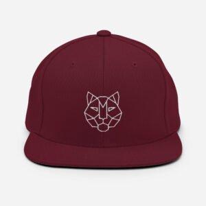 Tiger 3D Puff Snapback Hat