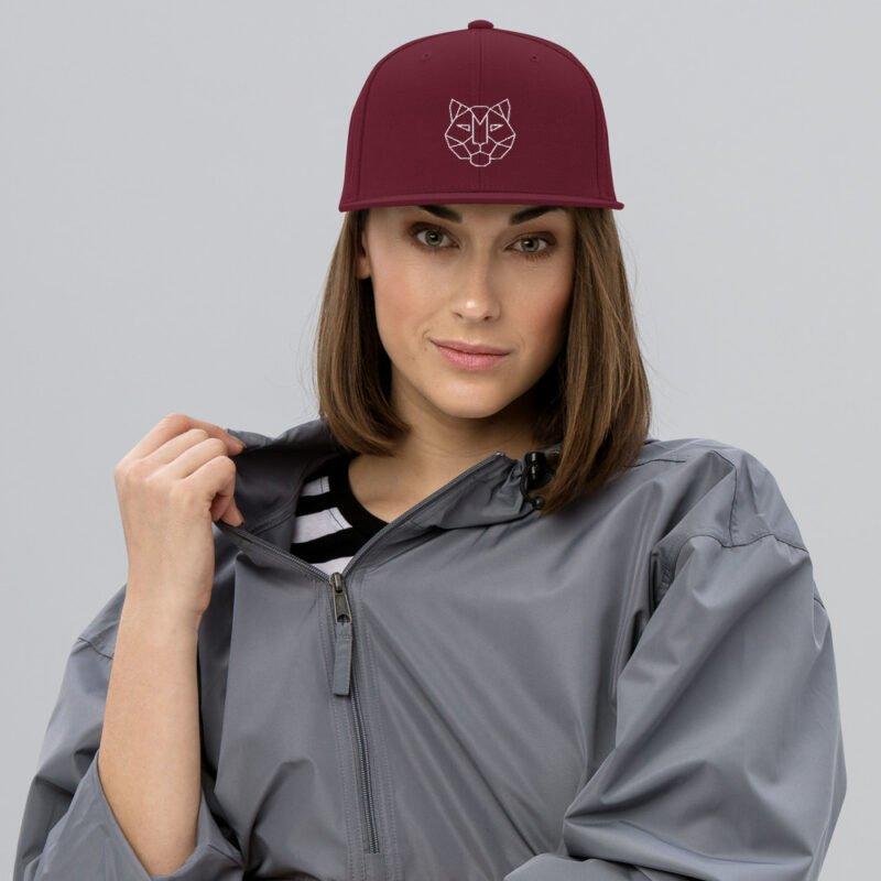 Tiger 3D Puff Snapback Hat 2