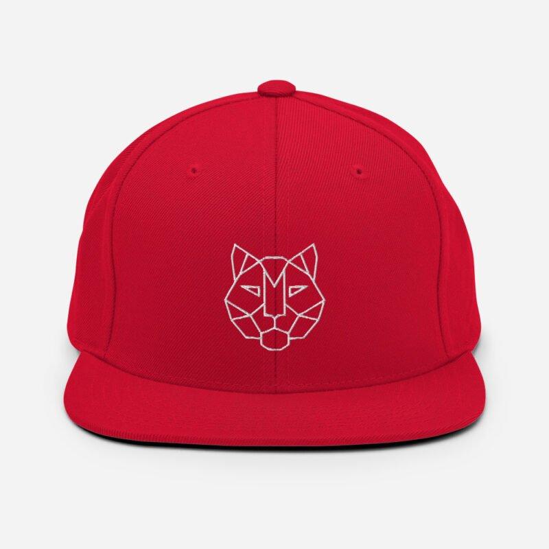 Tiger 3D Puff Snapback Hat 11