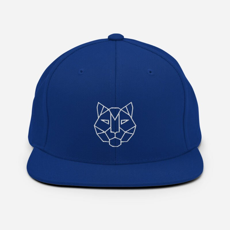 Tiger 3D Puff Snapback Hat 8