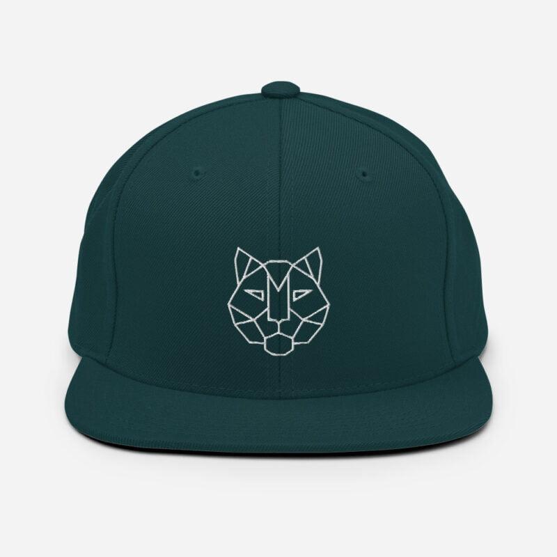 Tiger 3D Puff Snapback Hat 10