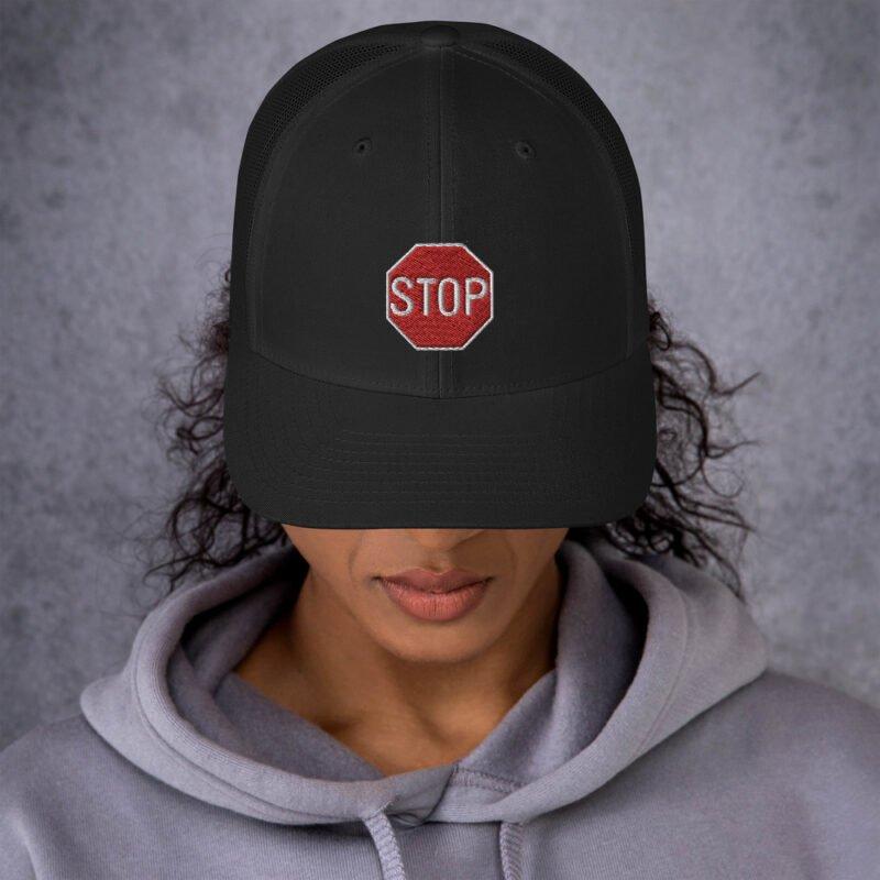 Stop - Trucker Cap 4