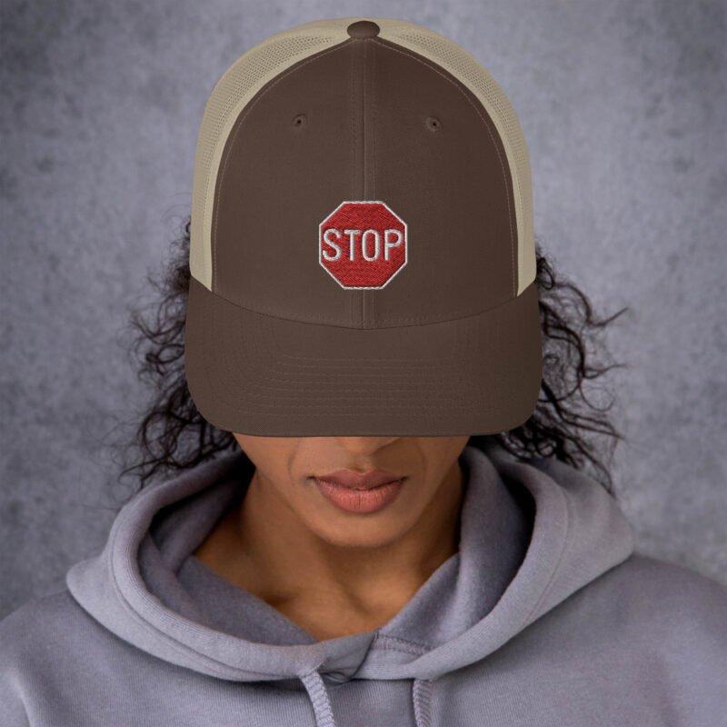Stop - Trucker Cap 5