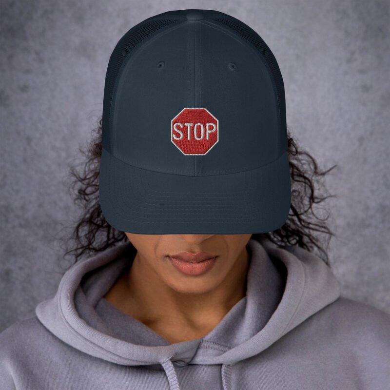Stop - Trucker Cap 1