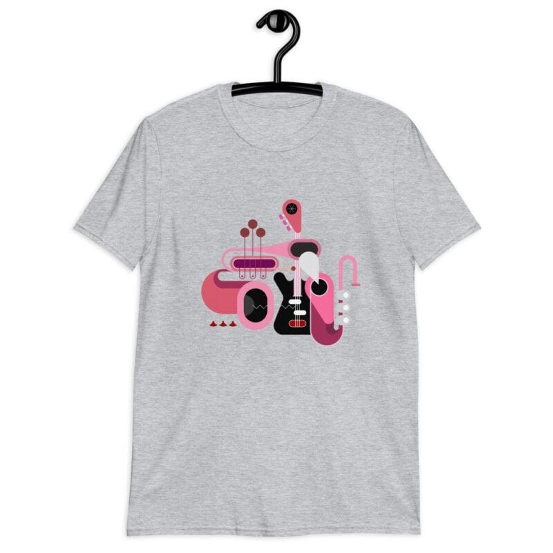 Abstract Music Art Short-Sleeve Unisex T-Shirt 4