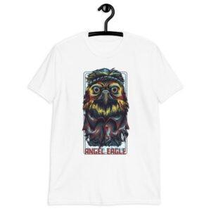 Angel Eagle Short-Sleeve Unisex T-Shirt white