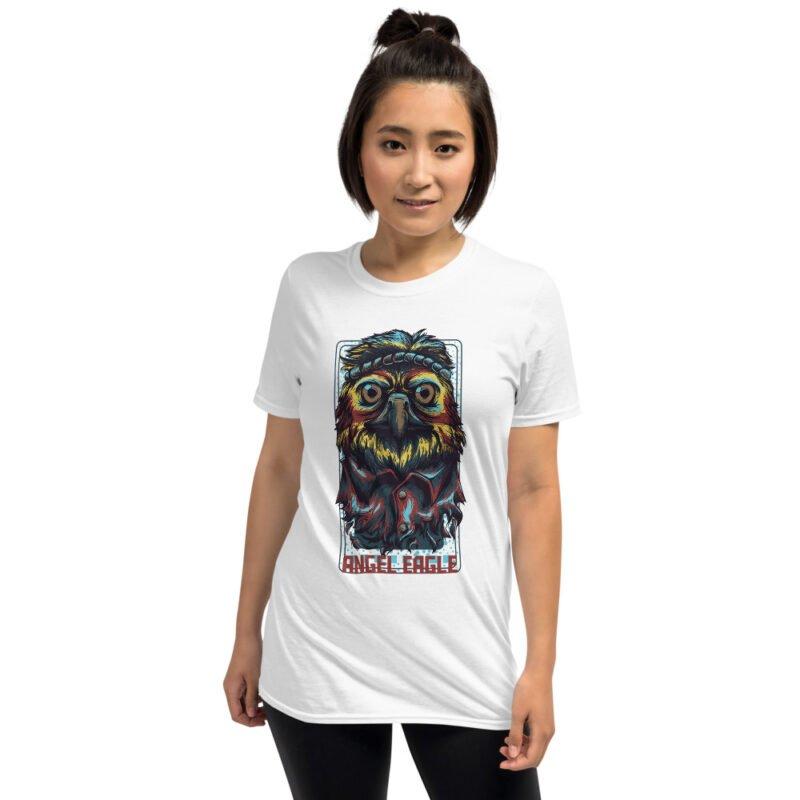 Angel Eagle Short-Sleeve Unisex T-Shirt 3